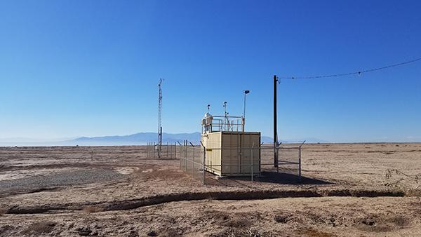 Toggle navigation Salton Sea Air Quality Mitigation Program Home Program  Components Emissions Estimate Plan & Design Implement & Monitor Documents  Data and Tools Data Portal PI-SWERL Data Upload PI-SWERL QAQC PI-SWERL  Viewer ...